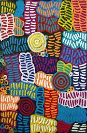 Sale 8558 - Lot 581 - Betty Mbitjana (1955 - ) - Body Paint, 2014 80 x 56cm (stretched & ready to hang)