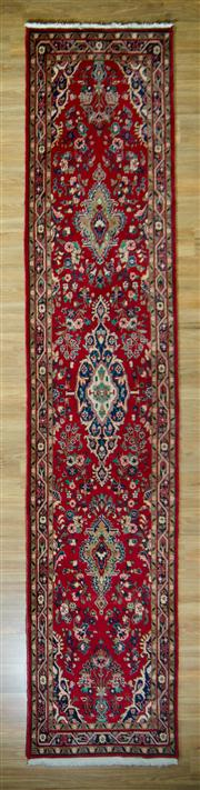 Sale 8665C - Lot 26 - Persian Mashad 425cm x 87cm