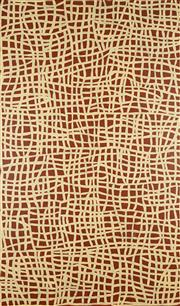Sale 8875A - Lot 5049 - Abie Loy Kemarre (1972 - ) - Untitled 152 x 89 cm (framed and ready to hang)