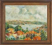 Sale 8845 - Lot 2047 - Artist Unknown - Untitled, 1954 (Landscape) 50 x 60cm