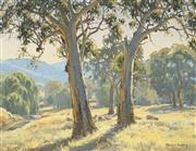 Sale 8467 - Lot 525 - Melvin Duffy (1930 - ) - By Quirindi Creek 44.5 x 59.5cm
