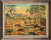 Sale 8759 - Lot 2023 - Andy Lominici - Australian Landscape oil on board, 76 x 90cm, signed lower right -