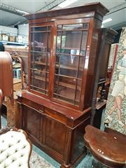 Sale 8831 - Lot 1004 - Victorian Mahogany Bookcase (key in office)