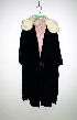 Sale 3741 - Lot 323 - A 1920s blue velvet evening coat,