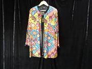 Sale 7982B - Lot 200 - Diane Fres multi printed jacket with applique and beading (12/14)