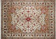 Sale 8276B - Lot 67 - Persian Tabriz Silk Inlaid 345cm x 243cm RRP $15,000