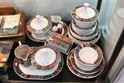 Sale 8338 - Lot 1016A - Portmeirion Pottery 42-Pce Dinner Service for Eight