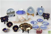 Sale 8529 - Lot 111 - Limoges Miniatures with other Ceramics inc Royal Copenhagen and Shelley