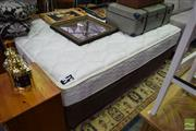 Sale 8532 - Lot 1323 - Double Mattress and Base