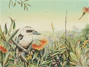 Sale 8722A - Lot 5033 - Evelyn Steinmann (1959 - ) - Kookaburra 32 x 42cm