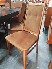 Sale 8839 - Lot 1052 - Set of Six G-Plan Teak Dining Chairs