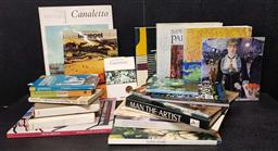 Sale 9208 - Lot 2019 - Box of Art Books incl The Art of Collaboration: The Big Americans, fauves & Hundertwasser