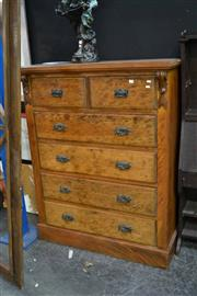 Sale 8039 - Lot 1013 - Timber Chest Of Six Drawers