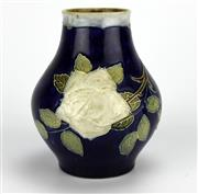 Sale 8139 - Lot 80 - Royal Doulton Earthenware Vase by Florrie Jones