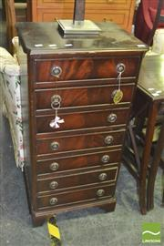 Sale 8352 - Lot 1088 - Slim Chest of 7 Drawers