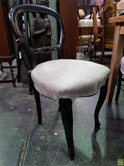 Sale 8566 - Lot 1692 - Set of 6 Painted Victorian Dining Chairs