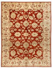 Sale 8740C - Lot 13 - An Afghan Chobi, Naturally Dyed In Hand Spun Wool, Very Suitable To Australian Interiors, 300 x 400cm