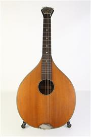 Sale 8783 - Lot 37 - Bohm Waldzither Mandola Instrument c1920