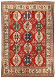 Sale 8780C - Lot 205 - An Afghan Kazak 100% Wool And Natural Dyes, 382 x 296cm