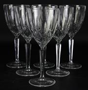 Sale 8972 - Lot 39 - Marquis by Waterford boxed set of six oversized sparkle pattern goblets