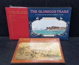 Sale 9208 - Lot 2006 - 2 Vols: Inson & Ward The Glorious Years of Australian Fair from the Birth of the Bulletin to Versailles 1971 with LP, Jacaranda Pr...