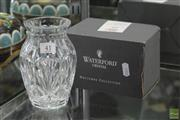 Sale 8256 - Lot 41 - Waterford Boxed Vase