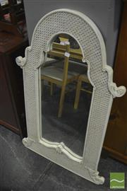 Sale 8307 - Lot 1063 - Timber Framed Mirror