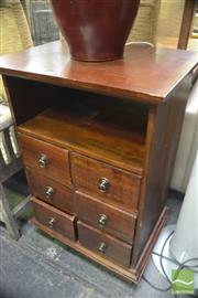Sale 8323 - Lot 1087 - Set of Mahogany Drawers