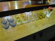 Sale 8338 - Lot 1047A - Assortment of Retro Drinking Glasses (20)
