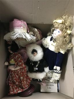 Sale 9106 - Lot 2431 - Large collection of various dolls
