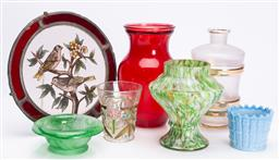 Sale 9185E - Lot 184 - A collection of glasswares including decanter