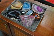 Sale 8066 - Lot 1088 - 7 Polished Agate Geodes