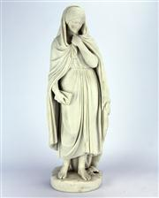 Sale 8139 - Lot 67 - Parian Highland Mary Figure