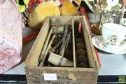 Sale 8364 - Lot 1018A - Vintage Table Top Croquet Set in Box