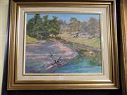 Sale 8437 - Lot 2070 - Beth Burgess - Walcha, oil on canvas board, 40 x 50cm, signed lower left