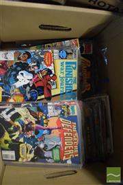 Sale 8497 - Lot 2359 - Box of Marvel Comics (approx 100)