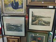 Sale 8619 - Lot 2071 - Pair of Elizabeth and Rushcutters Bay Lithographs
