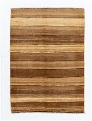 Sale 8790C - Lot 185 - An Afghan Stripe Chobi Natural Dyes 100% Wool Pile, 90 x 120cm