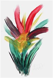 Sale 8799 - Lot 589 - Kevin Charles (Pro) Hart (1928 - 2006) - Floral Study 29 x 19cm