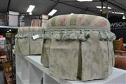 Sale 8013 - Lot 1272 - Pair Of Upholstered Ottomans