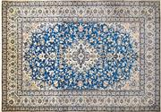 Sale 8256B - Lot 5 - Persian Nain Silk Inlaid 370cm x 255cm RRP $10,000