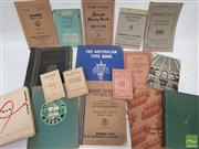 Sale 8900 - Lot 9 - Collection of Printing Ephemera incl. F.T. Wimble & Co. Ltd, The Australian Type Book; Stewart Black & Perry Ltd. Type Styles; Hardi...