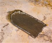 Sale 8474A - Lot 62 - A stunning gold Glomesh long mesh purse, in very good condition, size: 18cm long x 8cm wide