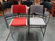 Sale 8724 - Lot 1010 - Five Varied Akaba Ado Chairs