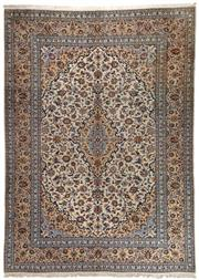 Sale 8740C - Lot 16 - A Persian Kashan From Isfahan Region Very Fine 100% Wool Pile On Cotton Foundation, 300 x 400cm