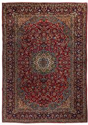 Sale 8780C - Lot 208 - A Persian Najafabad From Isfahan Region 100% Wool Pile On Cotton Foundation, 280 x 380cm