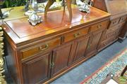 Sale 8251 - Lot 1025 - Oriental Sideboard with three drawers and four doors