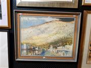 Sale 8671 - Lot 2037 - Frederic Bates - Queenstown, oil on board, 45 x 60cm, signed lower left