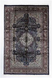 Sale 8760C - Lot 84 - An Indian Persian Design Wool And Silk Pile, 278 x 180cm
