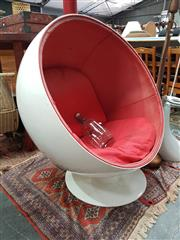 Sale 8843 - Lot 1057 - Reproduction Ball Chair